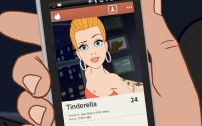 Tinder: Cenerentola finisce sotto le lenzuola