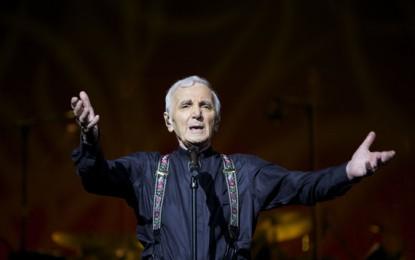 Charles Aznavour, novant'anni con la voglia di vivere