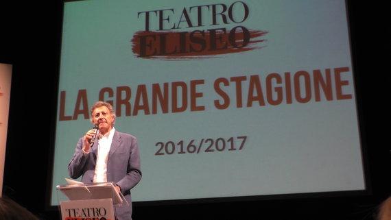 Teatro Eliseo la nuova stagione