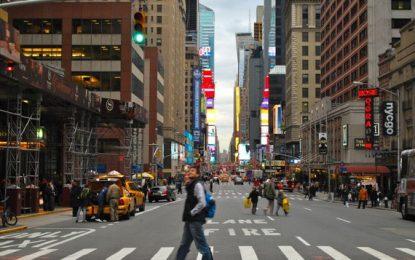 A New York a piedi, per sentire odori e differenze