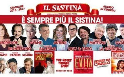 Teatro Sistina: ammazza che cartellone!