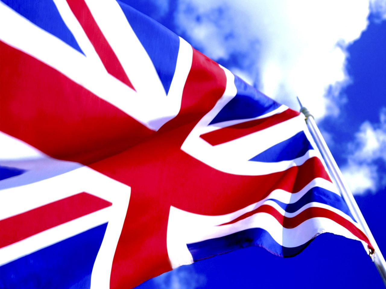British Flag --- Image by © Royalty-Free/Corbis