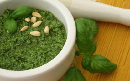 Il Pesto re della vera dieta mediterranea