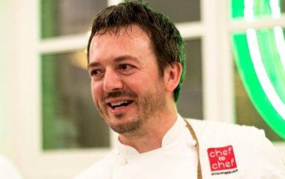 Riccardo Agostini alla Scuola di Cucina Italiana