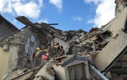 Il terremoto, un dramma negli occhi della gente