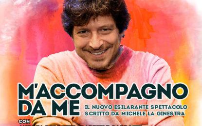 Michele La Ginestra, ritorno al Sistina dell'erede di Gigi Proietti