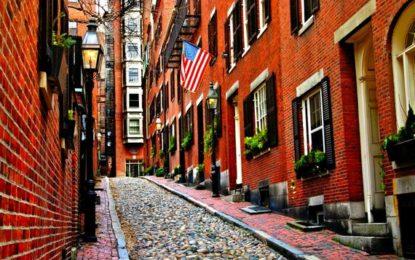 Boston, tra vicoli stretti e grattacieli
