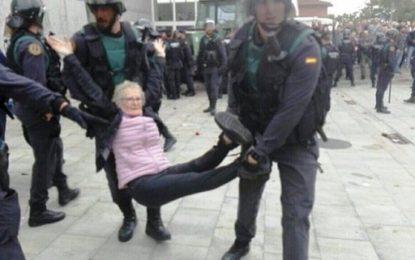 La violenza a Barcellona è un atto assurdo