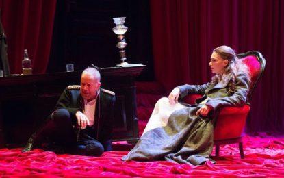 Federica Di Martino in una potente versione de Il Padre di Strindberg