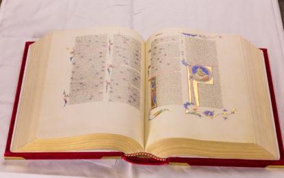 Un tesoro svelato: la Bibbia di Pietro Cavallini