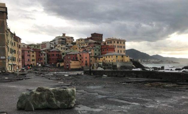 Boccadasse e non solo, la Liguria continua a subire