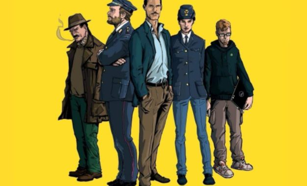 La legalità insegnata dal commissario Mascherpa al Lucca Comics