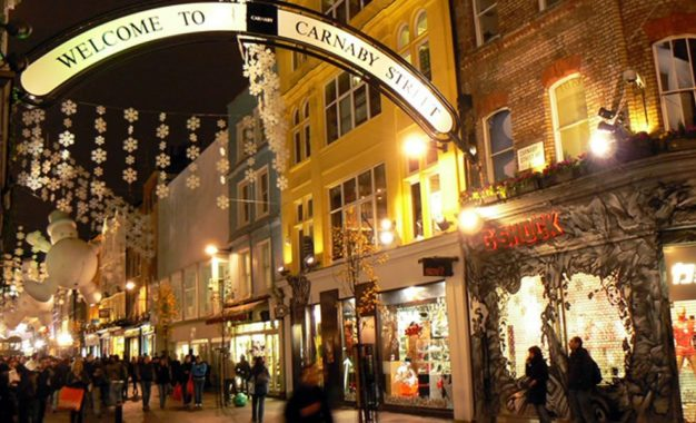London, a Christmas present