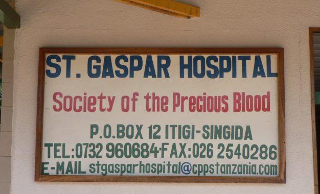 St. Gaspar Hospital compie 30 anni