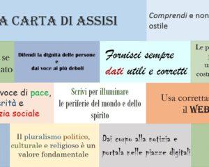 Le parole non sono pietre: la Carta d'Assisi per Comunicatori di pace