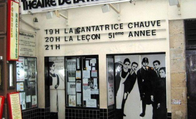 Theatre de la Huchette, une Cantatrice à voir